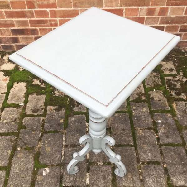 Victorian Painted Mahogany Tripod Table2