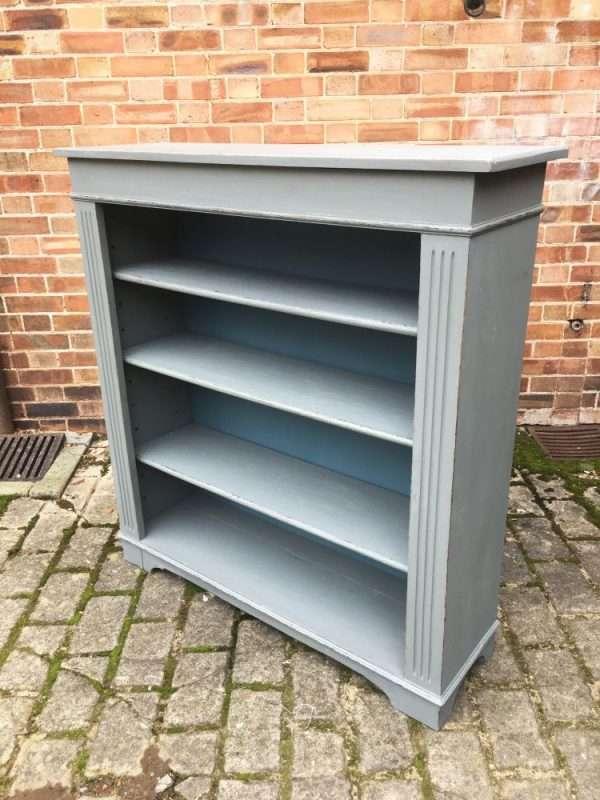 Edwardian Painted Oak Book Shelves SOLD – Ref:1331