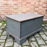 Early Victorian Painted Elm Box SOLD – Ref:1342
