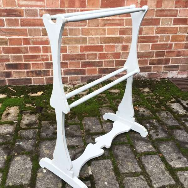 Early Victorian Painted Pine Towel Rail1