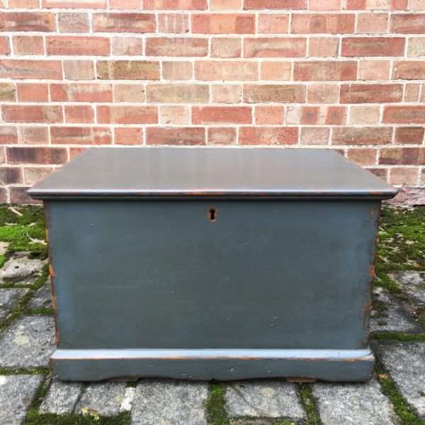 Mid Victorian Painted Pine Box