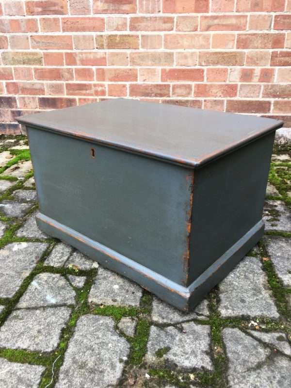 Mid Victorian Painted Pine Box SOLD – Ref:1338
