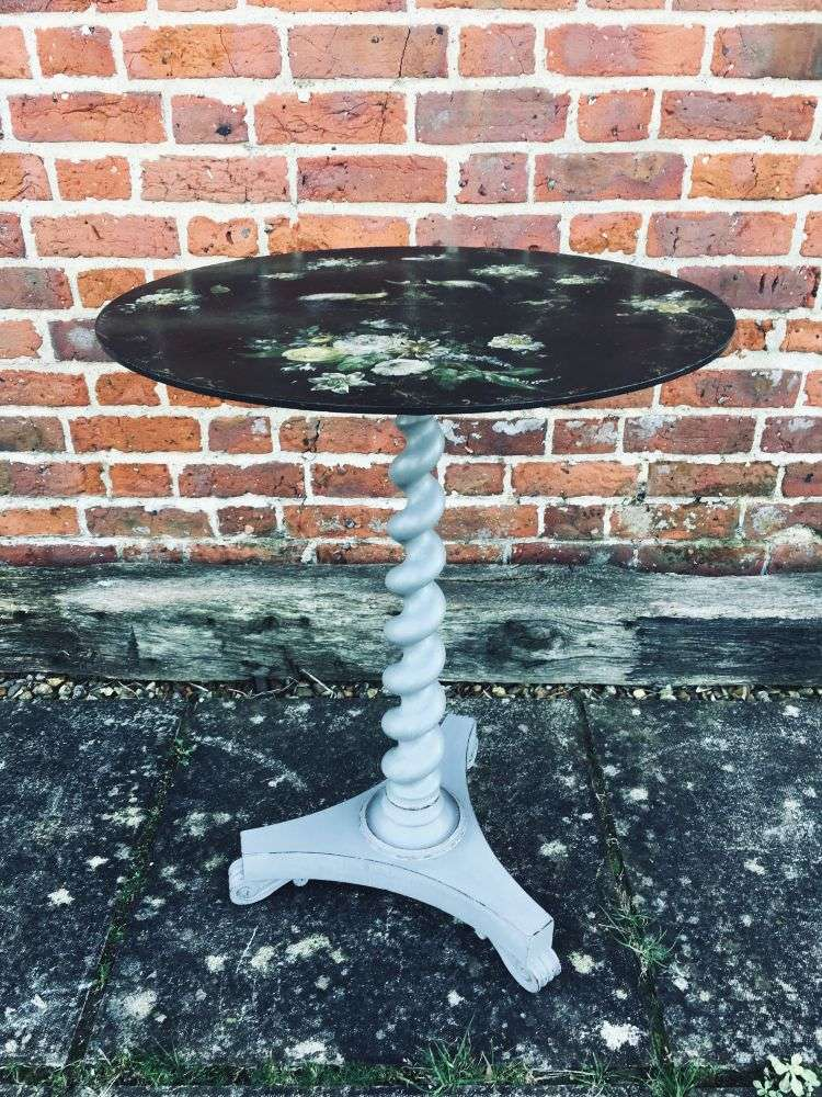 William IV Painted Rosewood Occasional Table3