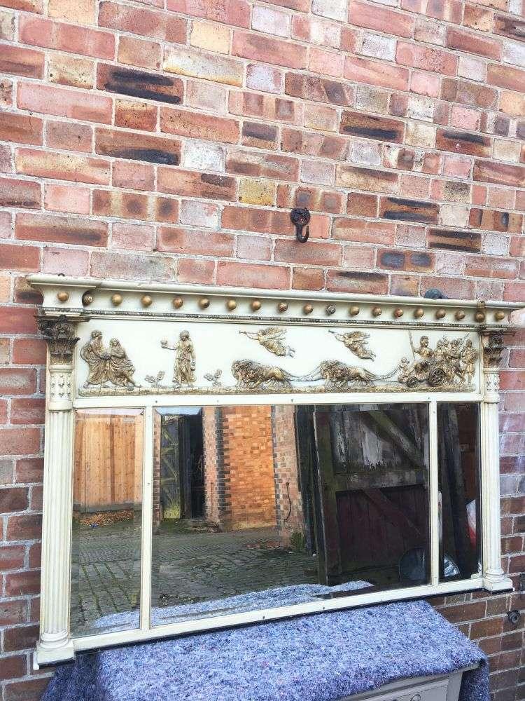 Late 19th Century Edwards & Roberts Regency Style Mirror4
