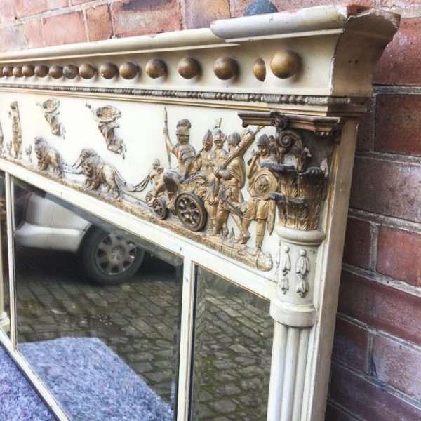 Late 19th Century Edwards & Roberts Regency Style Mirror2