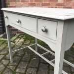 Edwardian Painted Mahogany 3 Drawer Table  – Ref:1364
