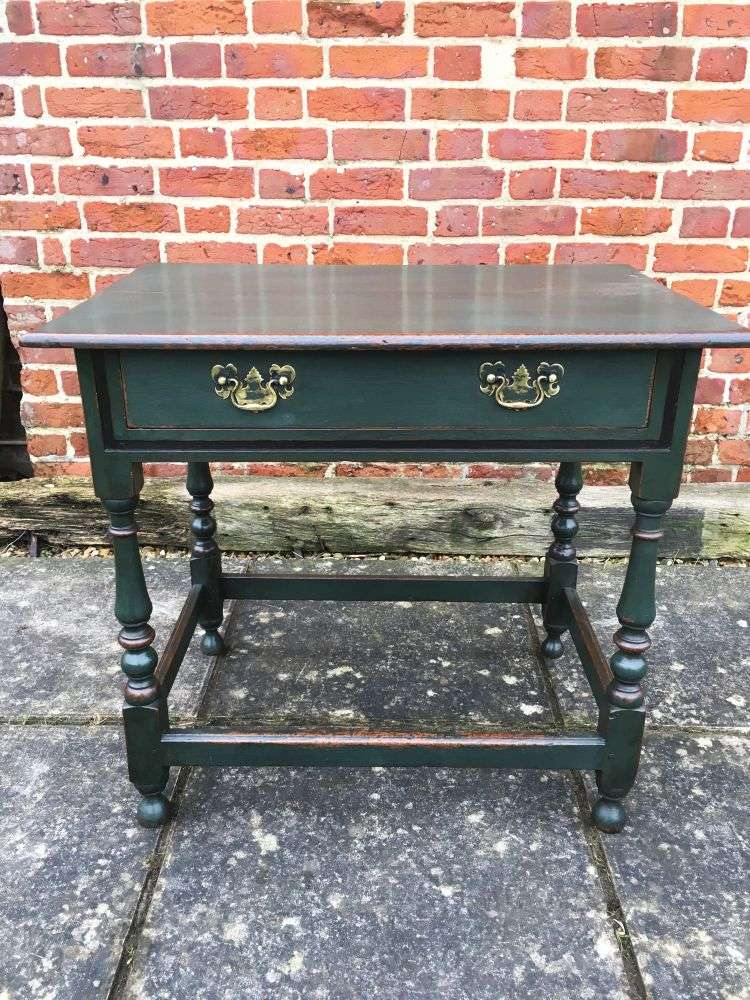 Late Victorian Painted Oak Table