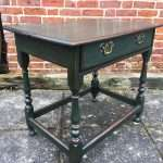 Late Victorian Painted Oak Table SOLD – Ref:1353