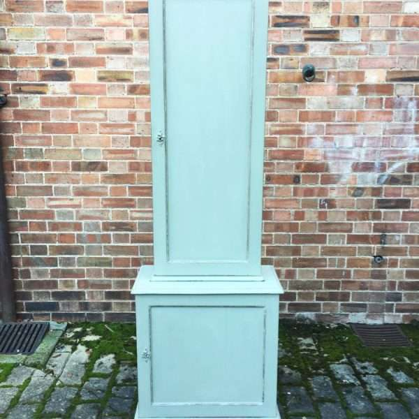 Edwardian Painted Mahogany Double Cupboard