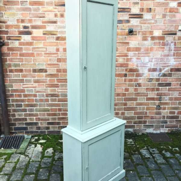 Edwardian Painted Mahogany Double Cupboard2