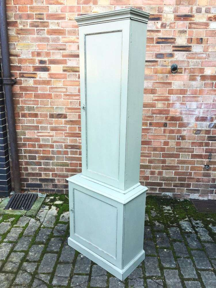 Edwardian Painted Mahogany Double Cupboard3