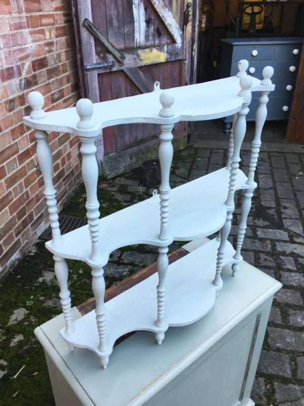 Late 19th Century French Painted Hanging Shelves SOLD – Ref:1356