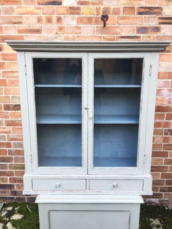 Edwardian Painted Oak Hanging Cabinet SOLD- Ref:1358