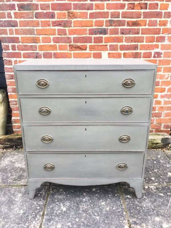 Early 19th Century Painted Mahogany Chest SOLD- Ref:1383