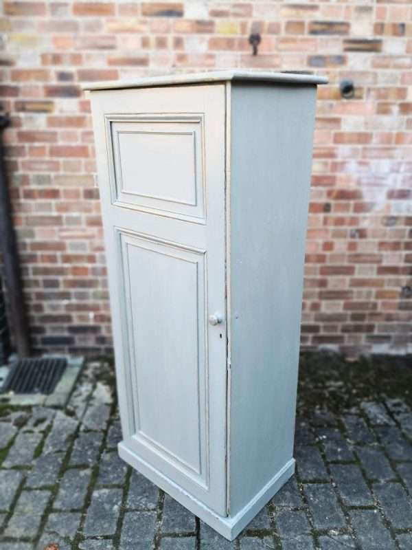 Mid Victorian Painted Pine Linen Cupboard SOLD – Ref:1386