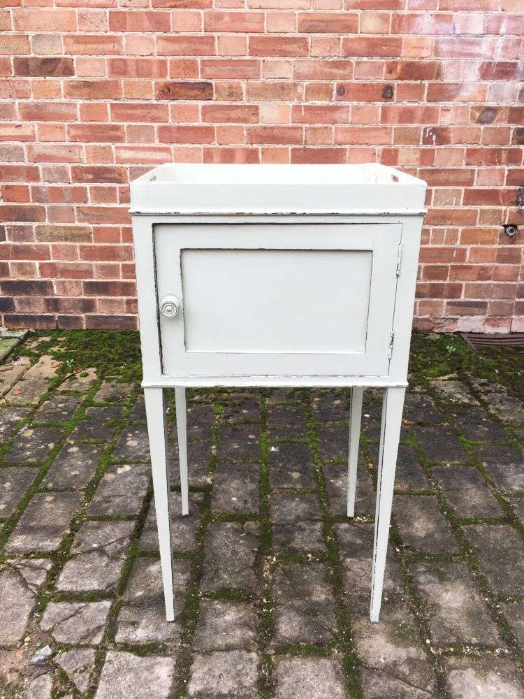 Early 19th Century Painted Mahogany Cupboard3