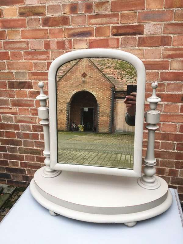 Mid Victorian Painted Mahogany Toilet Mirror SOLD – Ref:1368