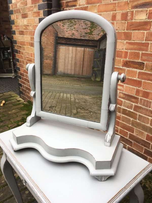 Mid Victorian Painted Mahogany Swing Mirror SOLD – Ref:1370
