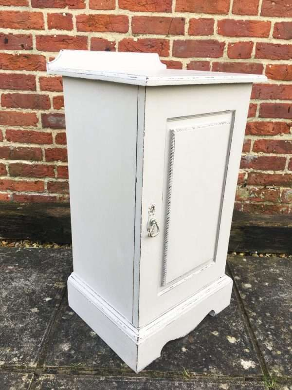 Edwardian Painted Mahogany Bedside Cupboard SOLD – Ref:1376