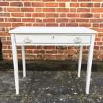 Early 19th Century Painted Mahogany Side Table SOLD – Ref:1377