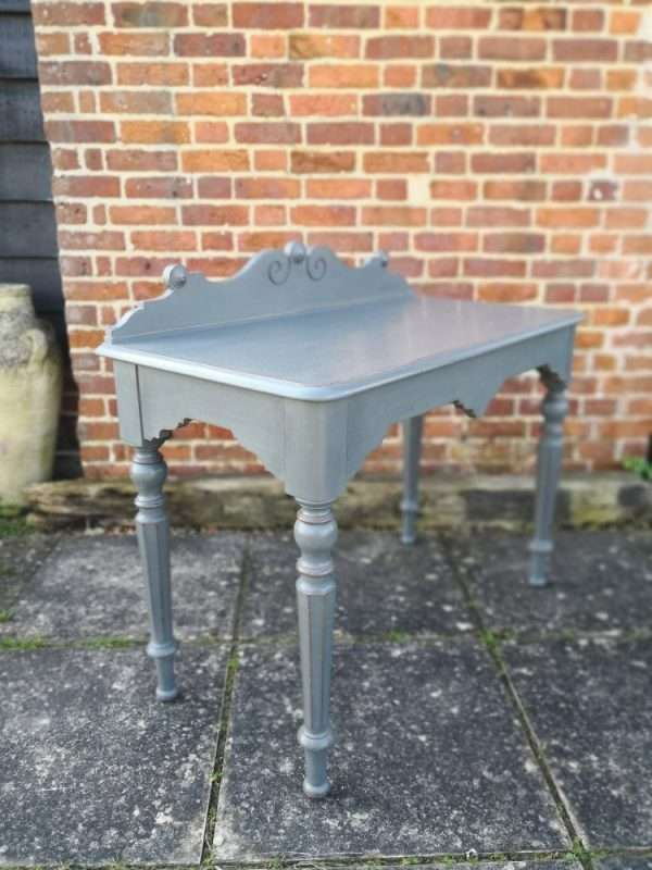 William IV Painted Oak Hall Table £235 – Ref:1393