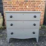 Early 19th Century Painted Mahogany Chest Of Drawers SOLD – Ref:1394