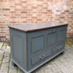 Early 19th Century Painted Oak Mule Chest SOLD – Ref:1397