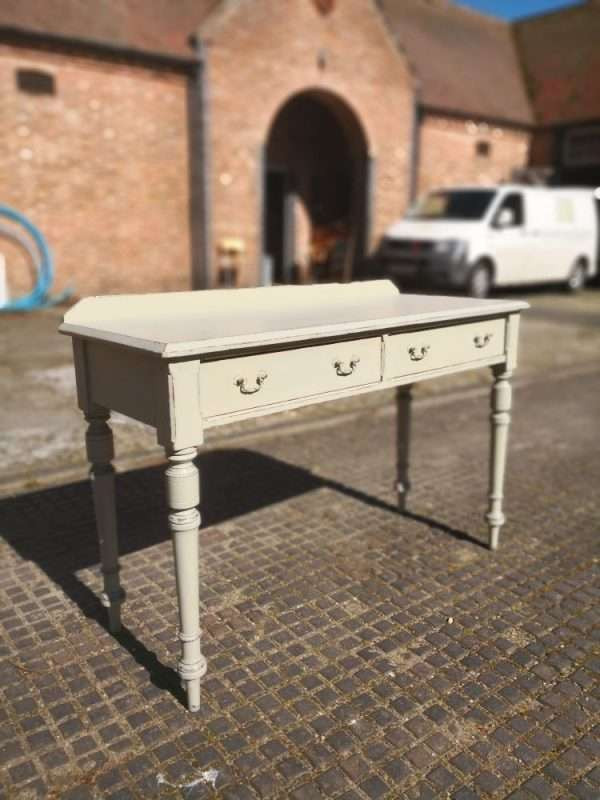 Mid Victorian Painted Pitch Pine Dressing Table £265 – Ref:1399