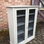 Edwardian Painted Mahogany Glazed Bookcase SOLD – Ref:1398