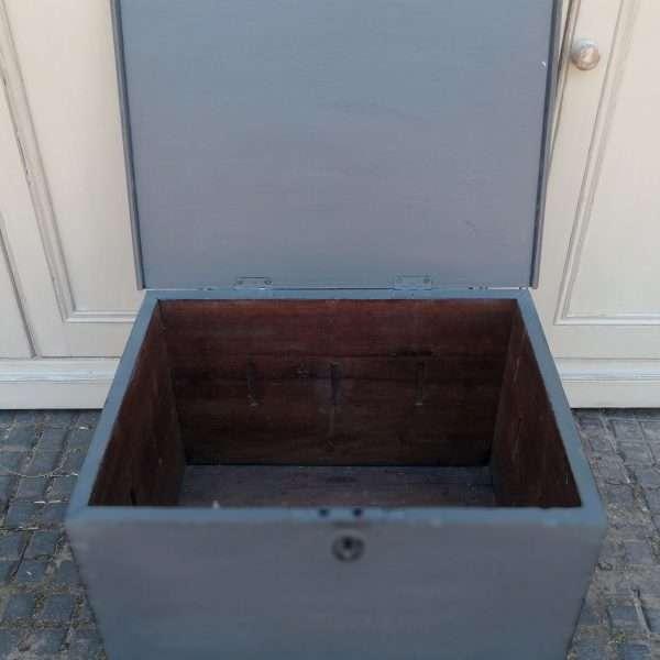 Early Victorian Painted Mahogany Box1