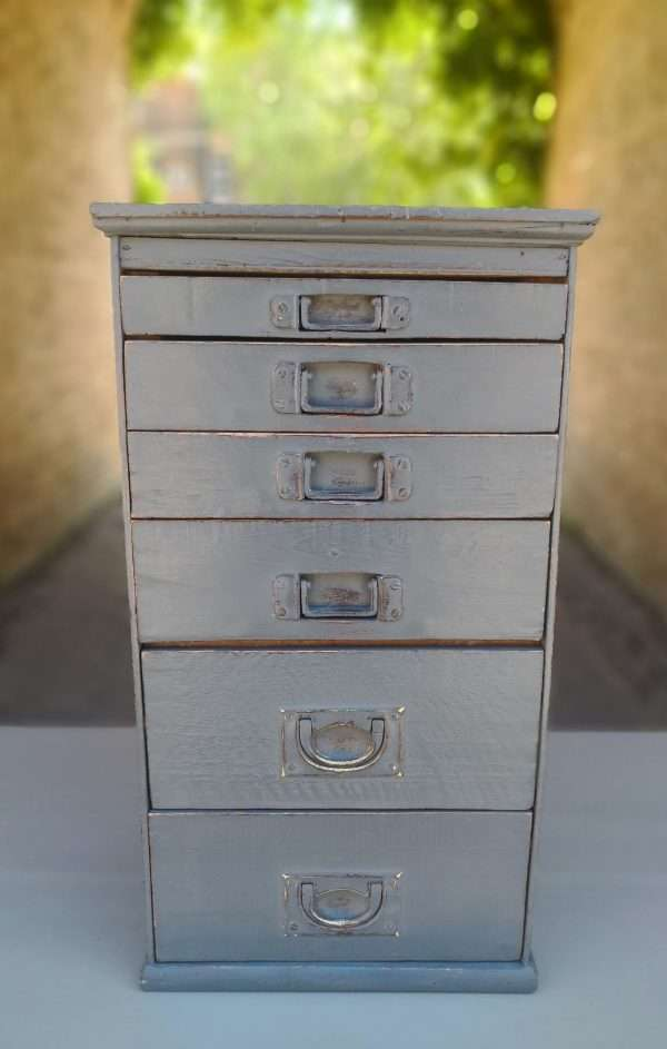 Victorian Small Bank Of 6 Drawers SOLD – Ref:1405