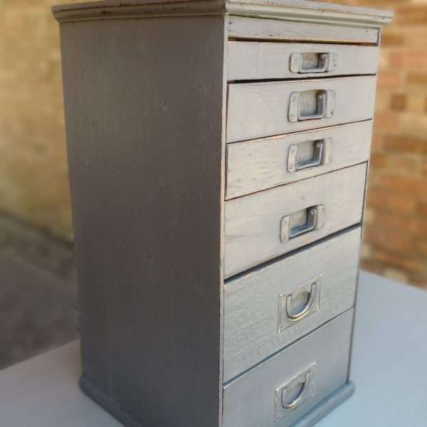 Victorian Small Bank Of 6 Drawers1