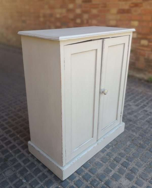 Early Victorian Painted Mahogany Cupboard SOLD – Ref:1404