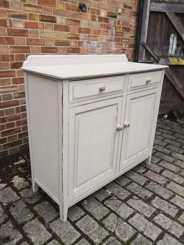 Edwardian Painted Oak Cottage Dresser Base SOLD -Ref:1422
