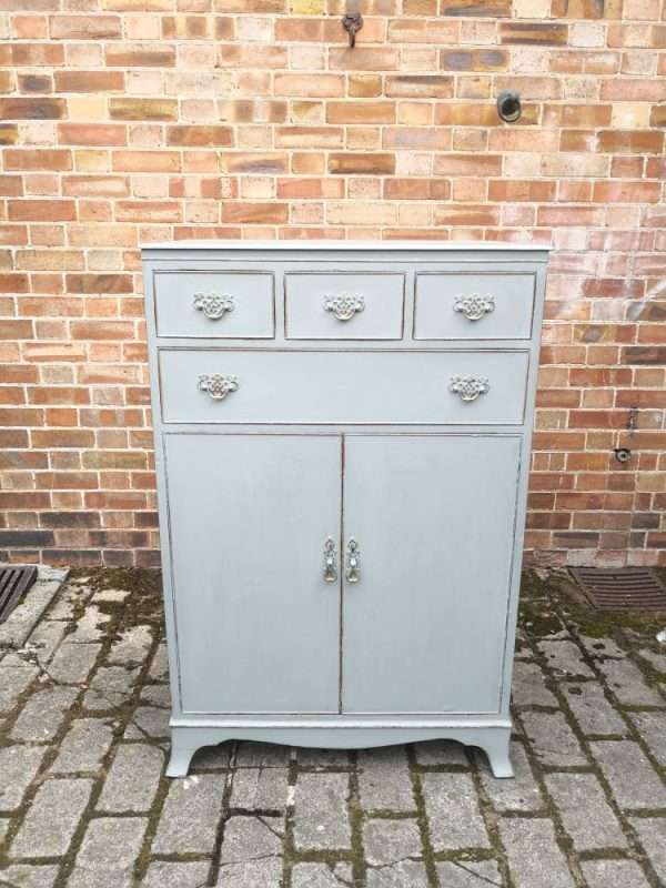 1920's Sheraton Style Chest Cupboard SOLD – Ref:1418