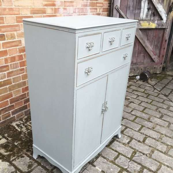 1920's Sheraton Style Chest Cupboard2