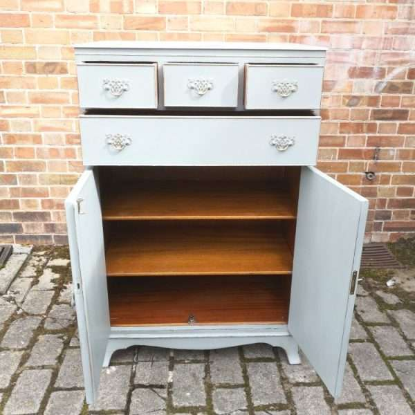 1920's Sheraton Style Chest Cupboard