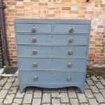 Regency Painted Mahogany Chest Of Drawers SOLD – Ref:1419