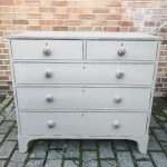Early 19th Century Painted Mahogany Chest Of Drawers SOLD – Ref:1436