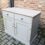 Mid 19th Century Painted Pine Dresser Base SOLD – Ref:1439