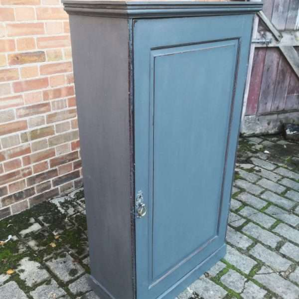 Early 19th Century Painted Mahogany Cupboard1