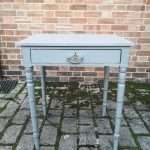 Early Victorian Painted Mahogany Side Table SOLD Ref:1437