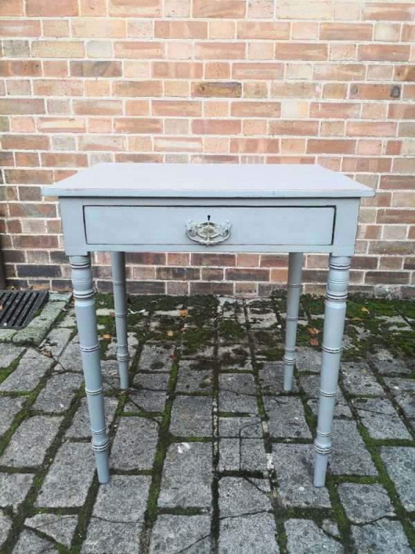 Early Victorian Painted Mahogany Side Table £175 Ref:1437