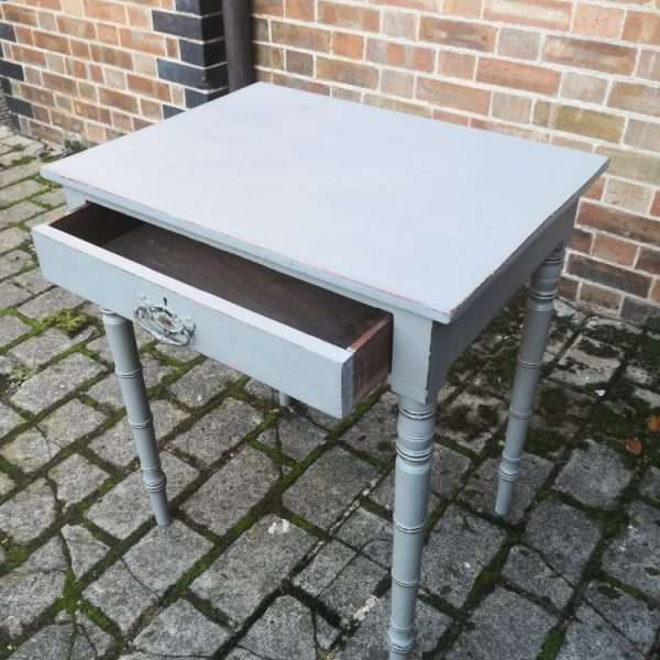 Early Victorian Painted Mahogany Side Table2